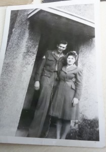 My parents photographed in Northern Ireland
