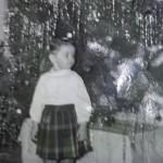Patty wearing kilt