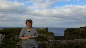 Patty and Dunseverick Castle