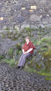 Patty at Carrickfergus Castle